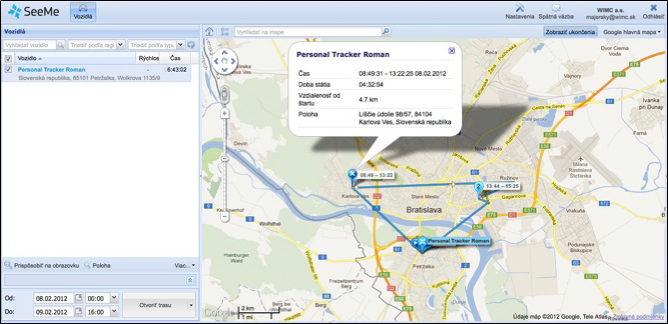 GPS montoring Personal Tracker